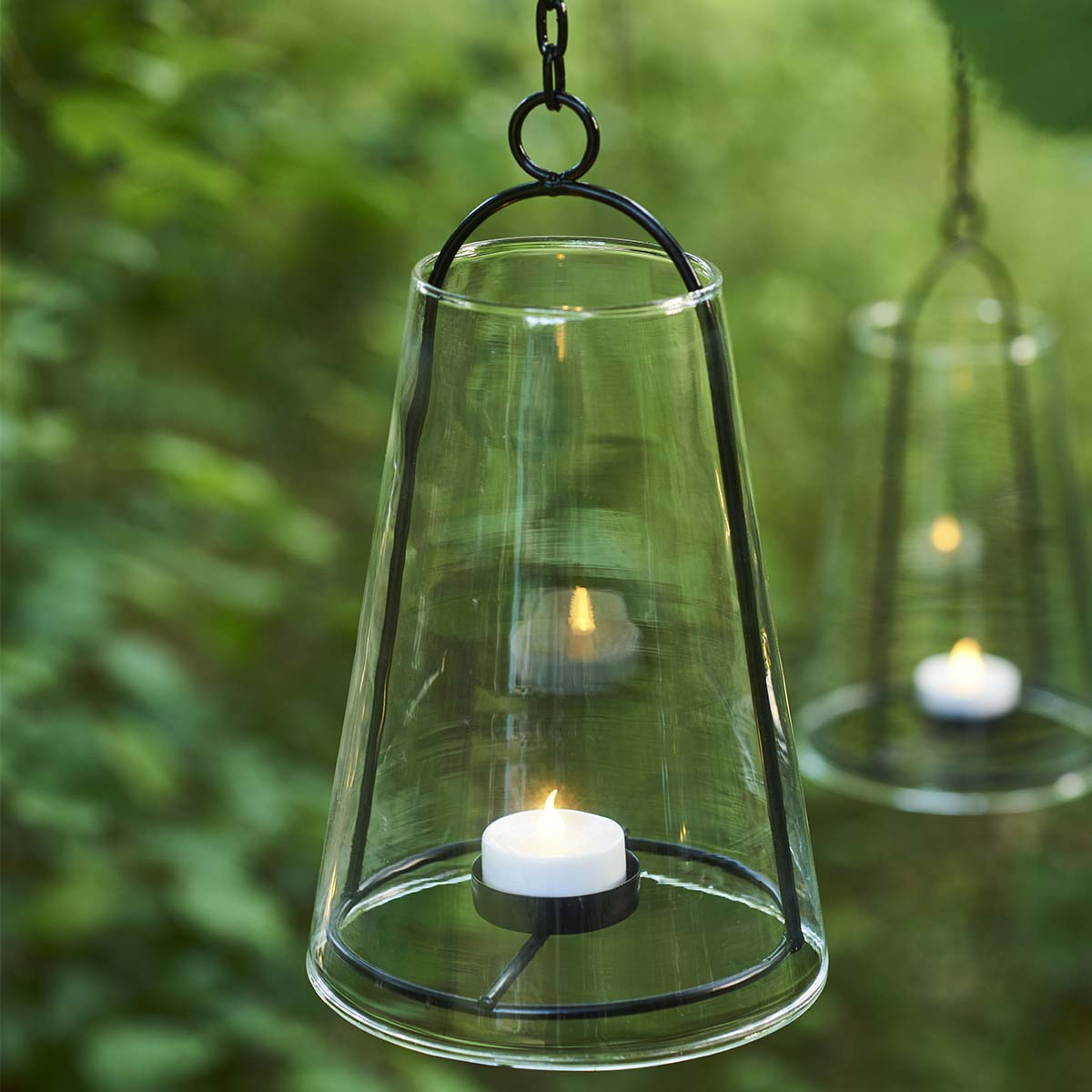 Lanterne Suspendue Albert H23cm noir