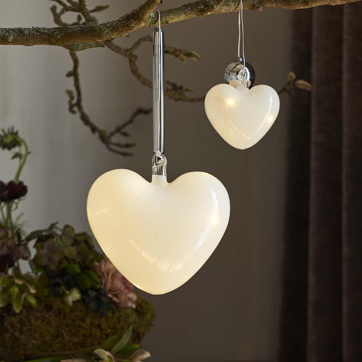 Cœur en verre