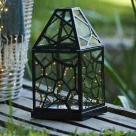 Lanterne Alfred Noir H35cm