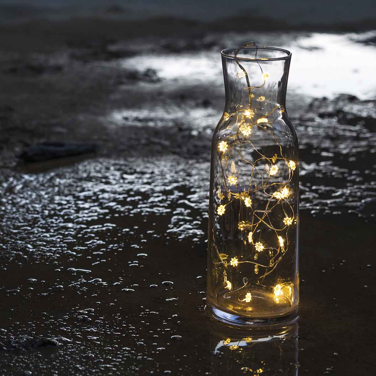 Guirlande lumineuse SILKE à des petites fleurs 20 LED