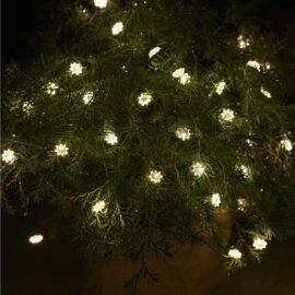 Guirlande lumineuse SILKE à petites fleurs 40 LED